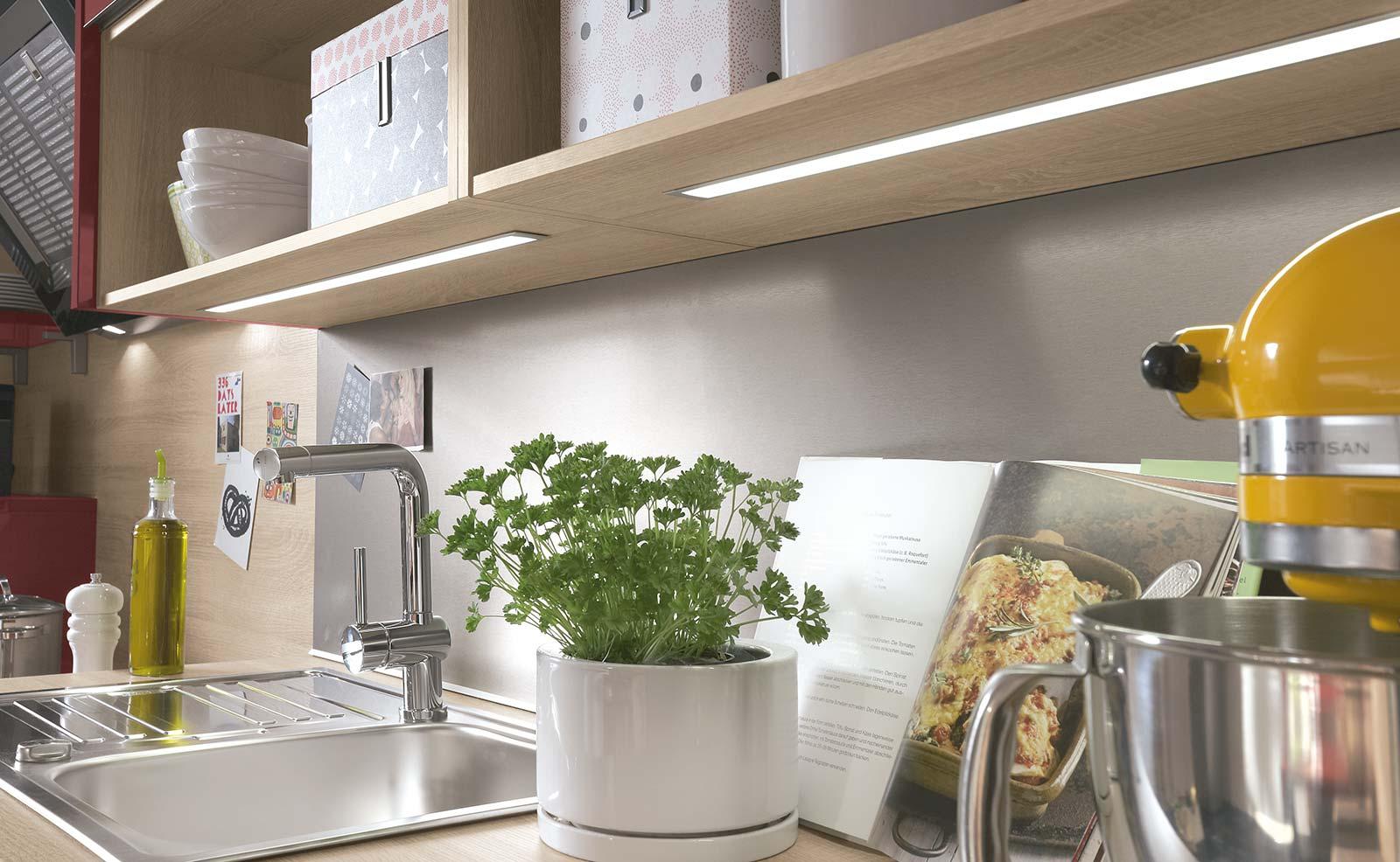 Groß Led Küche Einbauleuchten Ideen - Ideen Für Die Küche Dekoration ...